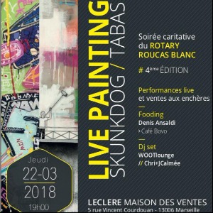 Rotary Live Painting - 4ème édition - 22 Mars 2018
