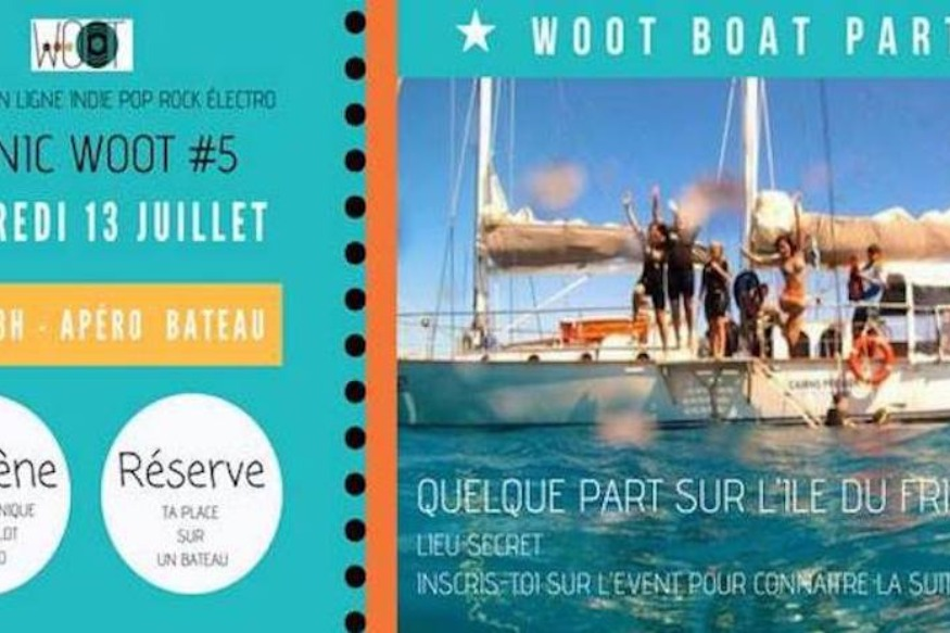 Picnic#5 // Wootboat PARTY - 13 juillet